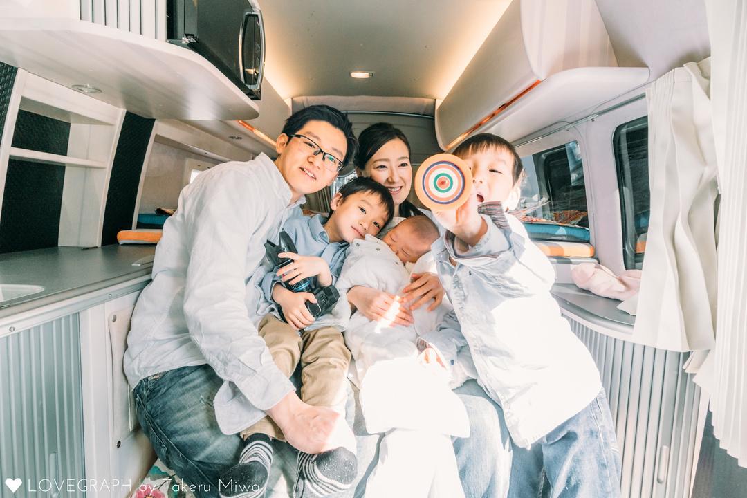 New born YUUMA | 家族写真(ファミリーフォト)