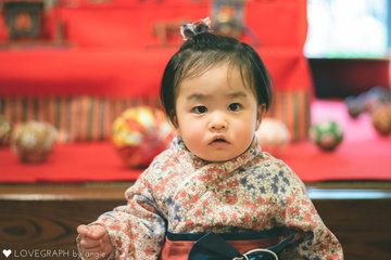 きーちゃん初節句♡ | 家族写真(ファミリーフォト)
