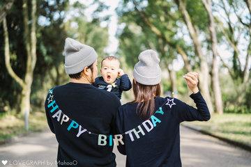 Happy 1st Birthday☆ | 家族写真(ファミリーフォト)