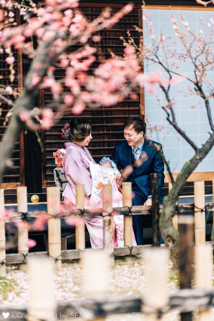 Layla お宮参り | 家族写真(ファミリーフォト)