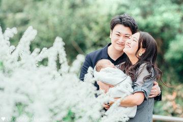 riku ♡ family | 家族写真(ファミリーフォト)