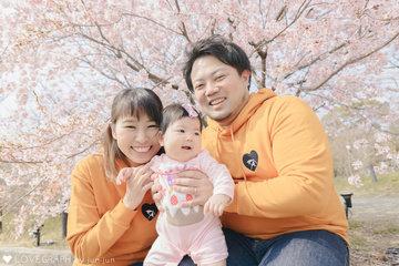 Kasumi Half Birthday | 家族写真(ファミリーフォト)