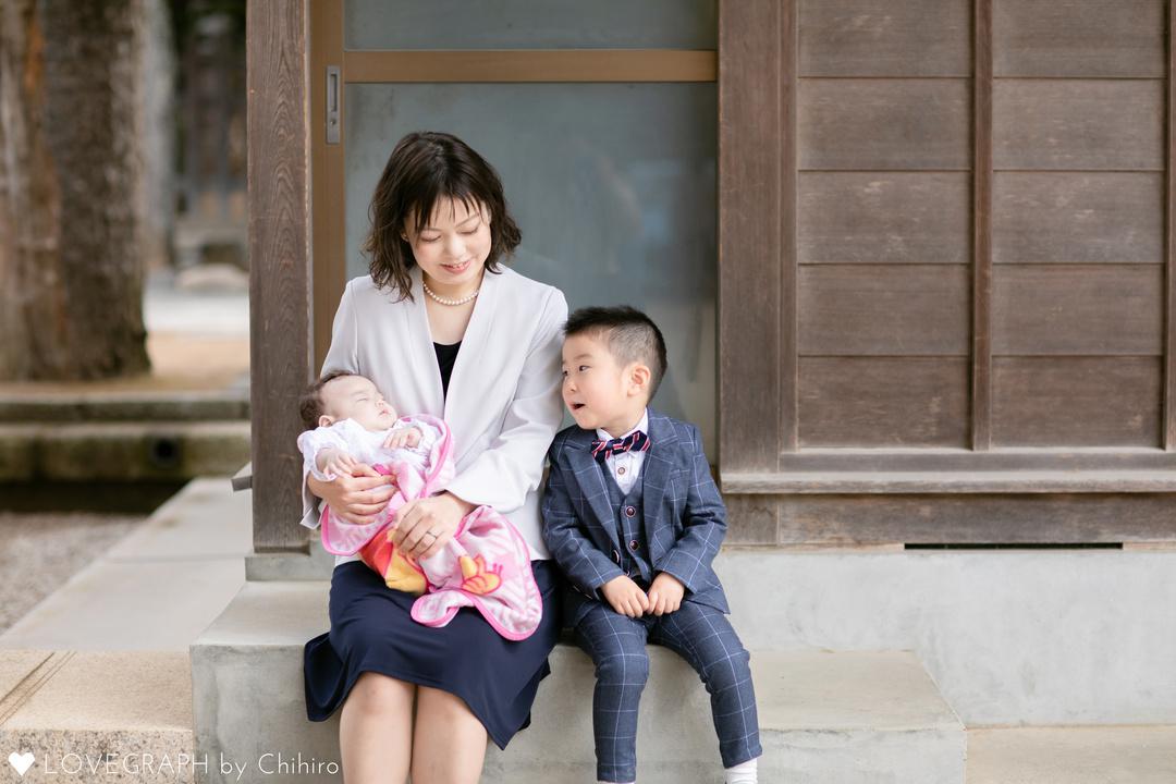 Yuzuki   初宮参り🍀 | 家族写真(ファミリーフォト)