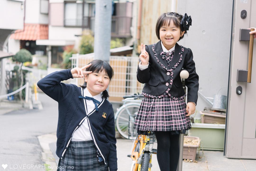 Wakako 入学式 | 家族写真(ファミリーフォト)