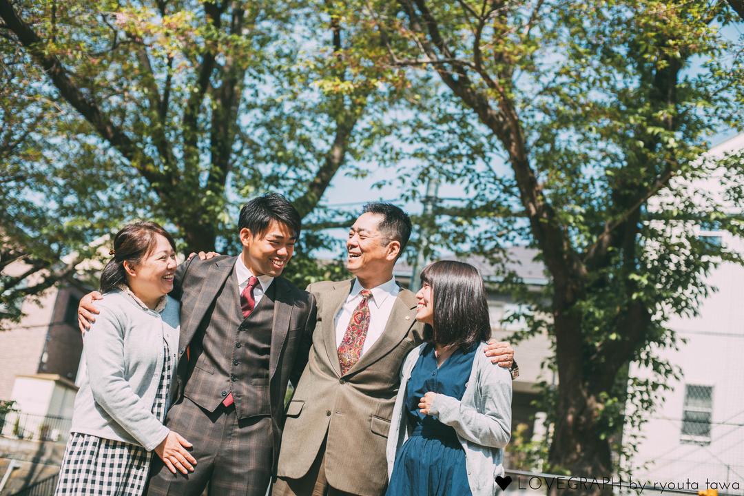 Kousuke's Family | 家族写真(ファミリーフォト)