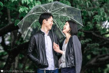Blessed Rain Of Heisei | 夫婦フォト