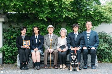 小西家 記念写真 | 家族写真(ファミリーフォト)