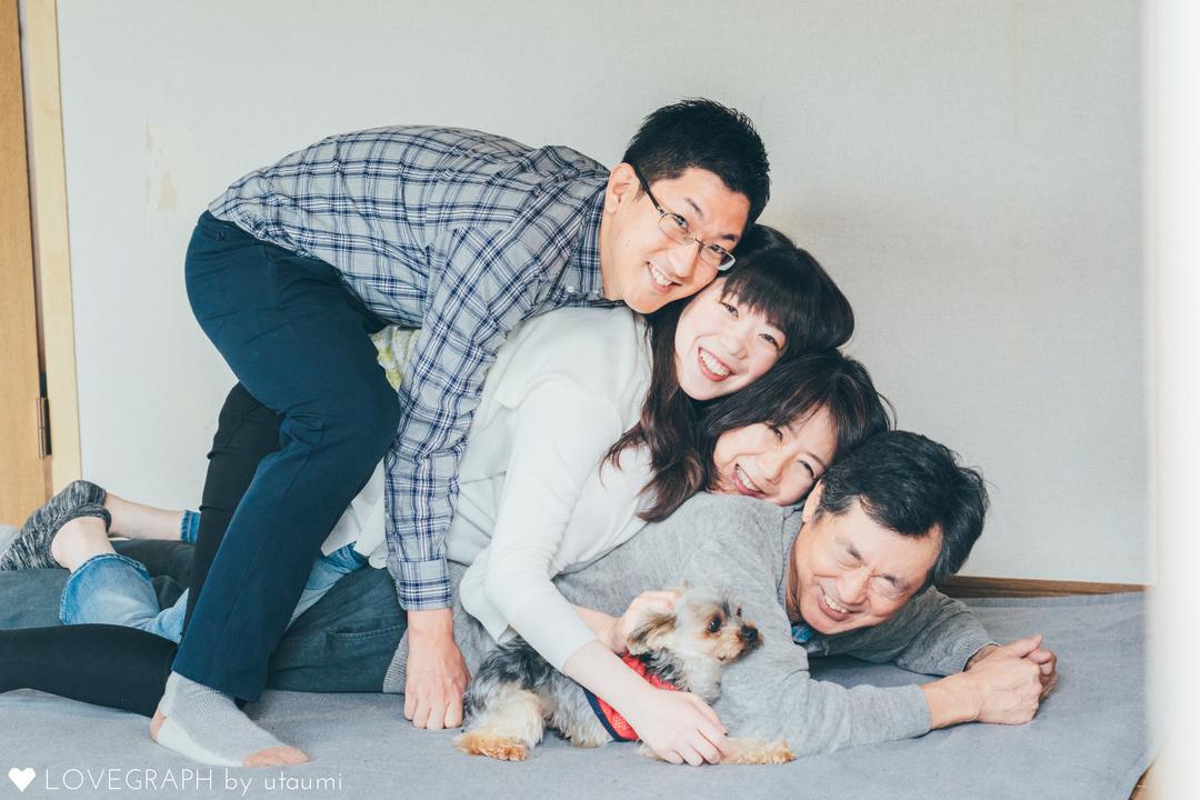 引っ越し前に | 家族写真(ファミリーフォト)
