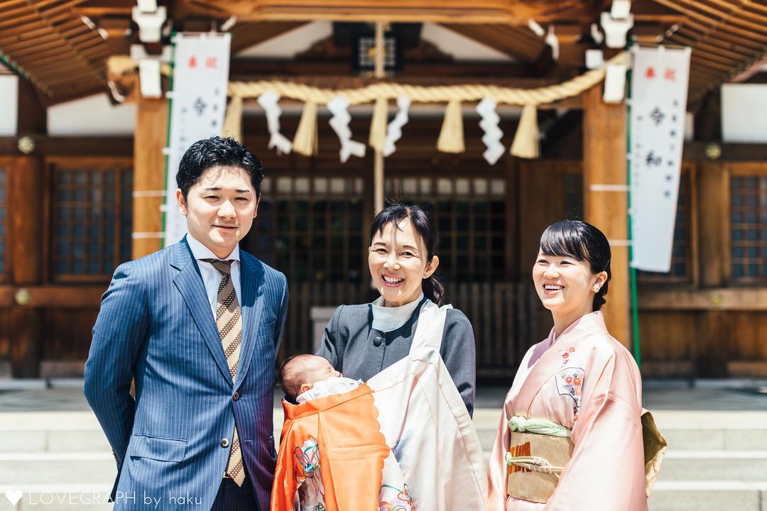 Ema お宮参り❤︎.* | 家族写真(ファミリーフォト)