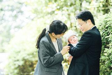 家族でお宮参り | 家族写真(ファミリーフォト)