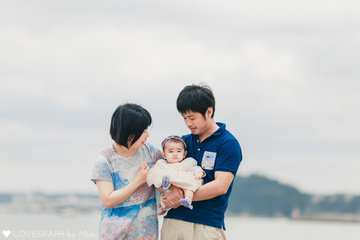 Ryota×Mizuho×Shuri | 家族写真(ファミリーフォト)