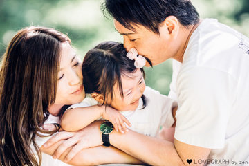 Asuna Family | 家族写真(ファミリーフォト)