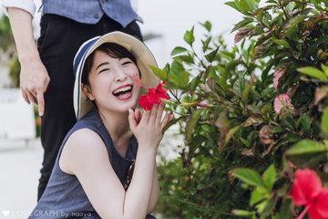 Okinawa birthday | カップルフォト