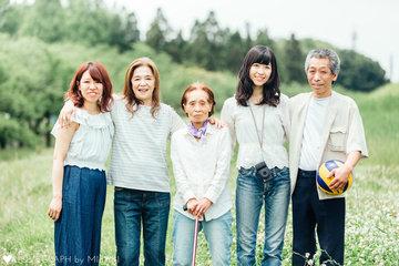 Yagai Family | 家族写真(ファミリーフォト)