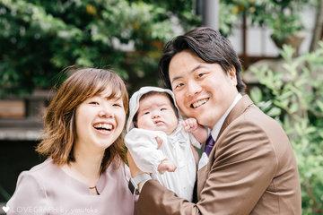 縁×お宮参り | 家族写真(ファミリーフォト)