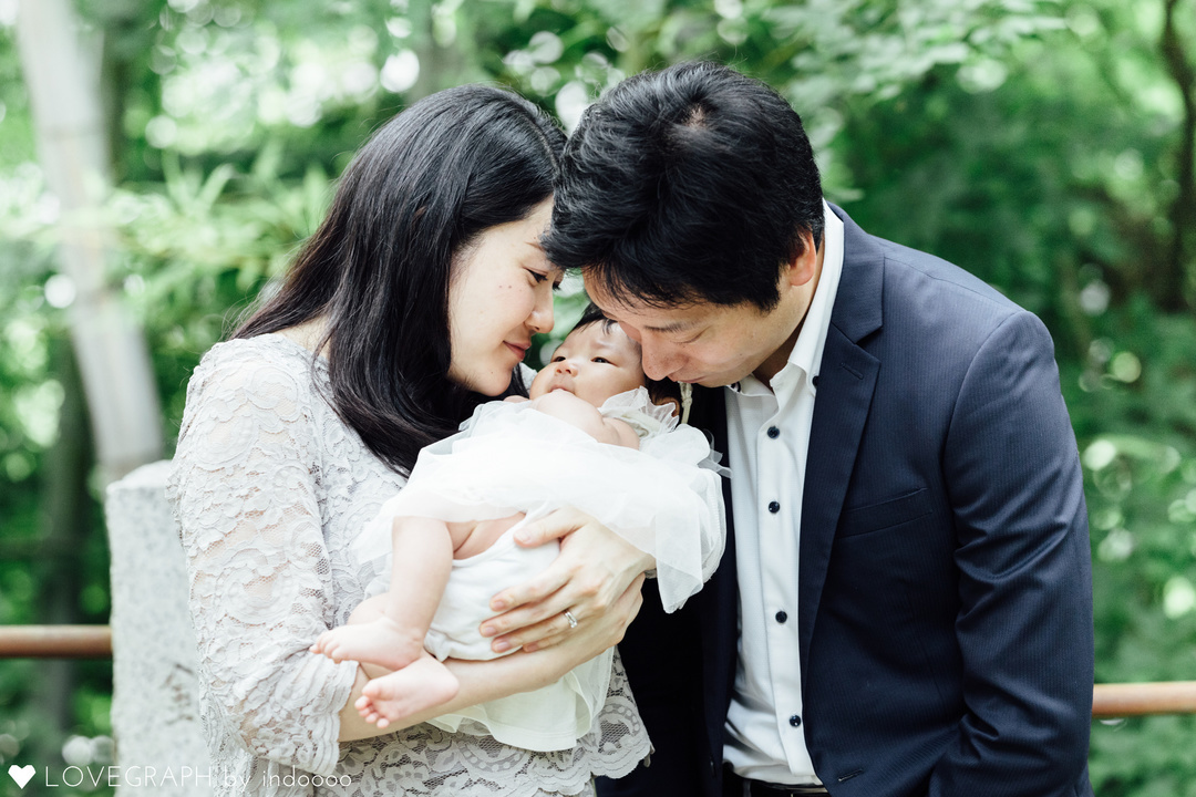 Nozomi×お宮参り | 家族写真(ファミリーフォト)