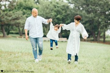 Juri × Papa × Mama | 家族写真(ファミリーフォト)