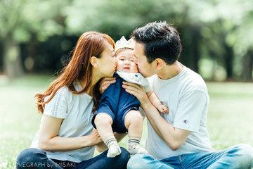 Ichikawa family | 家族写真(ファミリーフォト)