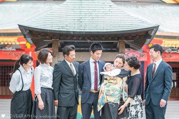 篤人お宮参り | 家族写真(ファミリーフォト)