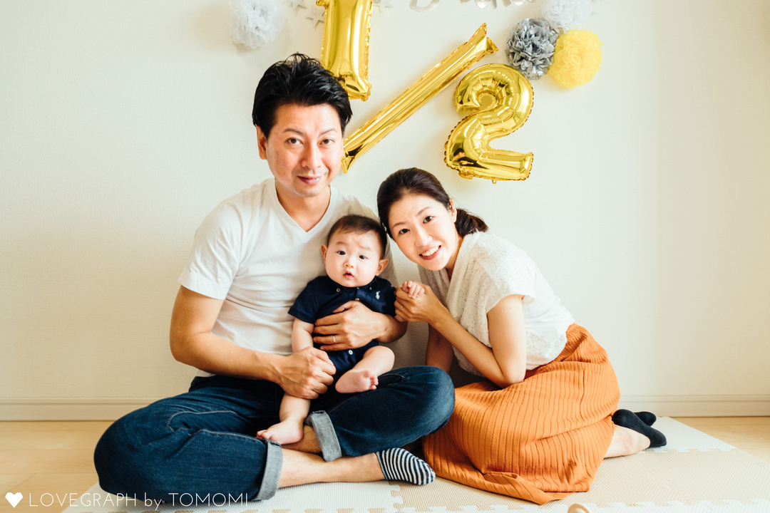 HAPPY HALF BIRTHDAY | 家族写真(ファミリーフォト)