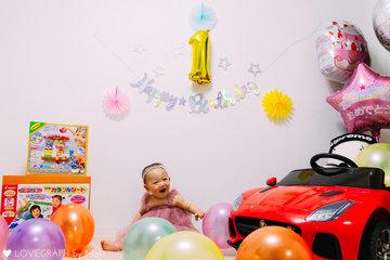 sara first birthday ! | 家族写真(ファミリーフォト)