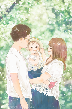 M Family   家族写真(ファミリーフォト)
