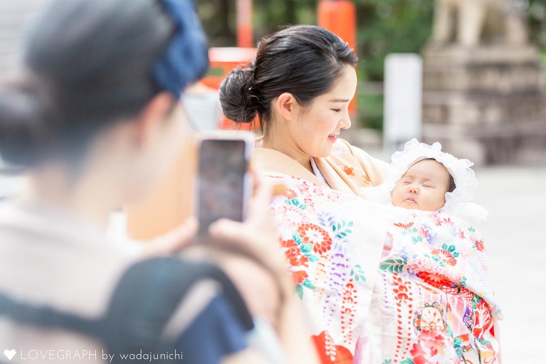 絵万お宮参り | 家族写真(ファミリーフォト)