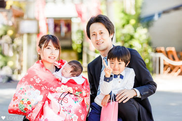 Yuzuha Family | 家族写真(ファミリーフォト)
