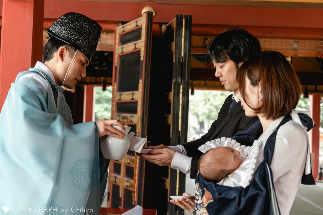お宮参り | 家族写真(ファミリーフォト)