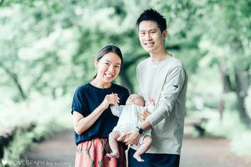 Ren, Miho, & Ray  | 家族写真(ファミリーフォト)