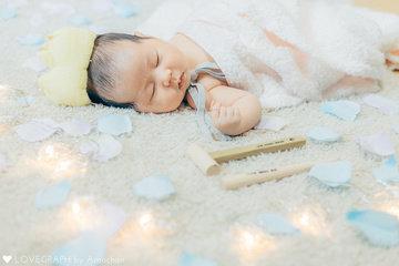 Newborn Kotoha | 家族写真(ファミリーフォト)