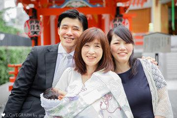 宏衛お宮参り | 家族写真(ファミリーフォト)