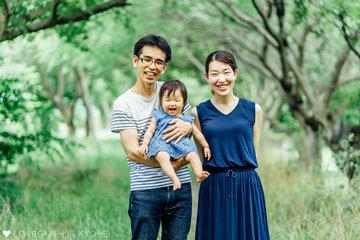 Atsushi×Mari×Sana | 家族写真(ファミリーフォト)