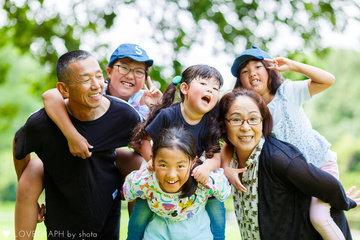 Grandma Grandpa HappyBDay | 家族写真(ファミリーフォト)