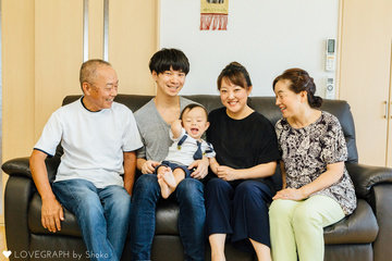 RIKU | 家族写真(ファミリーフォト)