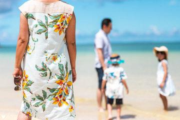 Family in Okinawa | 家族写真(ファミリーフォト)