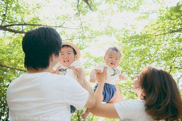 Saijiro half birthday | 家族写真(ファミリーフォト)