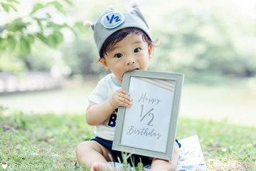 Shunki Half Birthday | 家族写真(ファミリーフォト)
