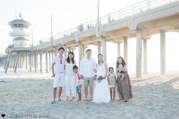LA旅行 | 家族写真(ファミリーフォト)