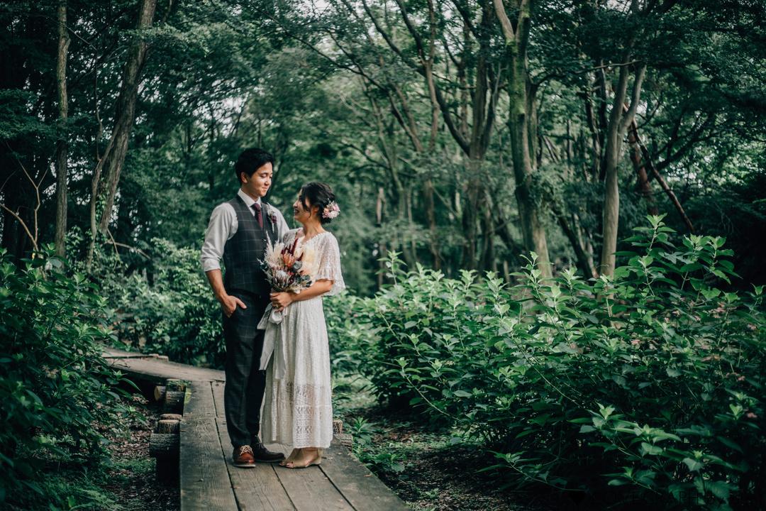 sunflower photo wedding | 夫婦フォト