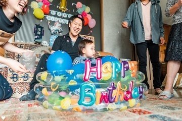 HARUKI birthday | 家族写真(ファミリーフォト)