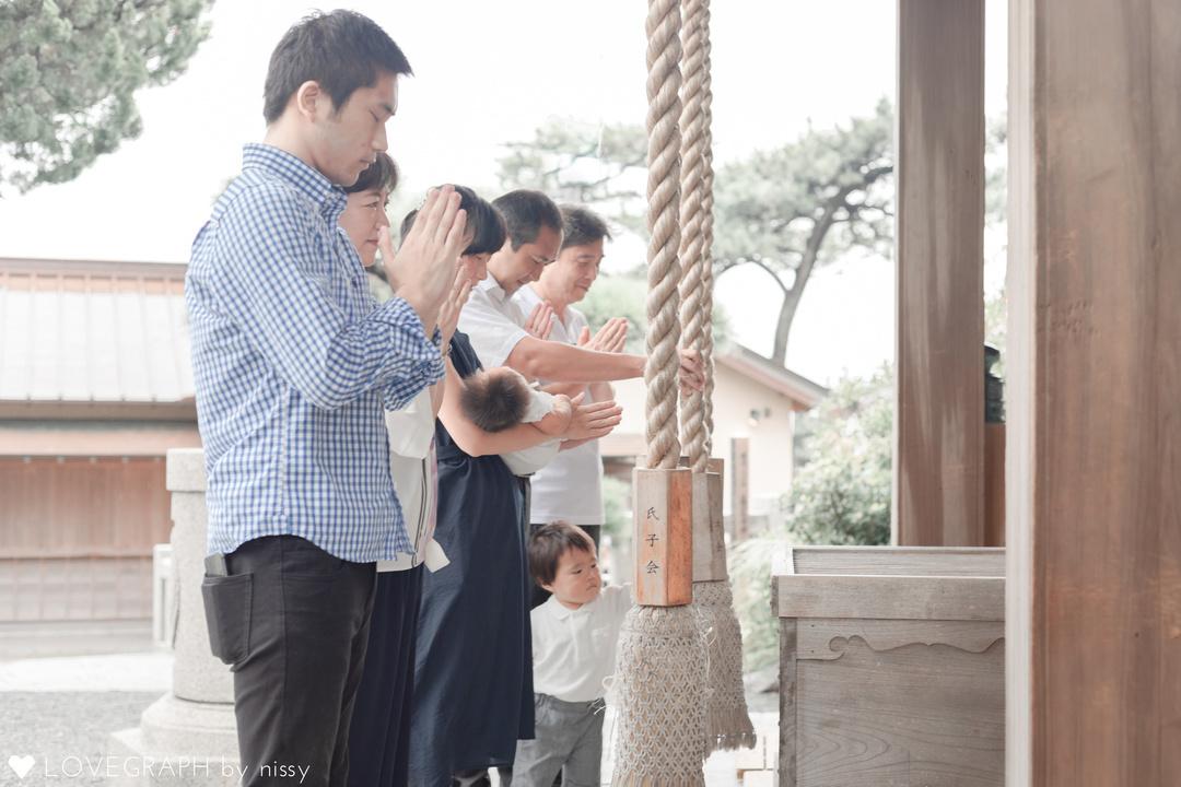 Yuzu Omiyamairi    家族写真(ファミリーフォト)
