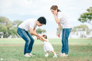 1st Birthday☺︎ | 家族写真(ファミリーフォト)