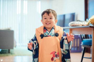 Happybirthday♡慎一郎~七五三~ | 家族写真(ファミリーフォト)