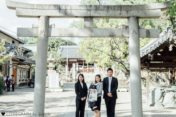 Kota first visit to a shrine |