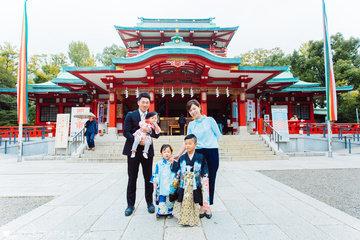 椿家 七五三 | 家族写真(ファミリーフォト)