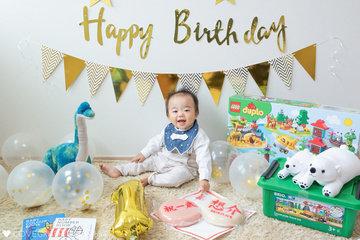 Sousuke 1st Birthday | 家族写真(ファミリーフォト)