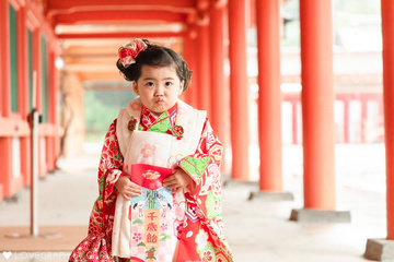 Yui  3歳 七五三 | 家族写真(ファミリーフォト)