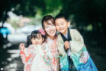 Shu&Shizuka Shichigosan | 家族写真(ファミリーフォト)