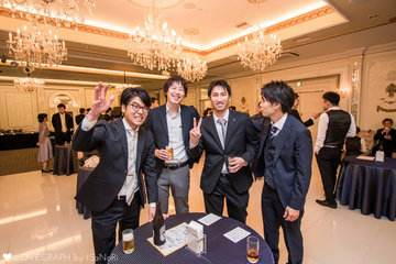 K&Y wedding party | カップルフォト